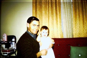 My favourite photo of dad and I