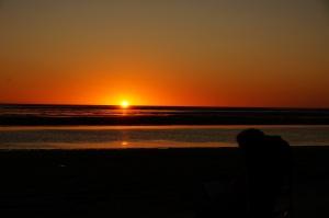 Kurumba sunset.