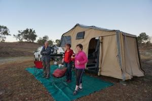 New pioneer camper and nice people