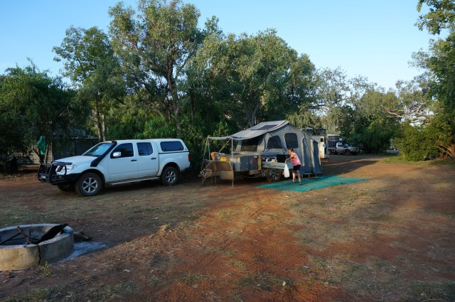 Camp at Windjana.