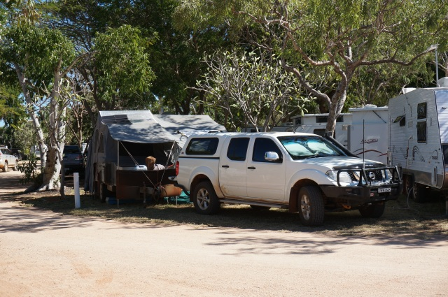 Camp Morris in Broome.