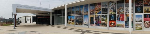 Canberra visitor centre.